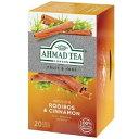 アーマッドティー ハーブティー ルイボス&シナモン ティーバッグ 20袋 AHMAD TEA ノンカフェイン 紅茶 ティーバッグ