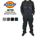 【メール便不可】Dickies Deluxe Blended Coveralls ディッキーズ 長袖 カバーオール つなぎ≪4879/48799≫【楽ギフ_包装選択】【r】【35】[BB]