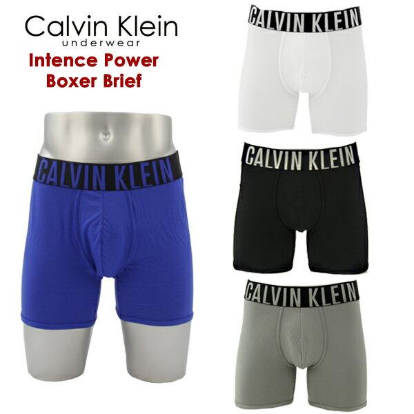 【メール便送料無料】カルバンクライン(Calvin Klein) インテンス パワー ボクサー パンツ(Intence Power Boxer Brief)アンダーウェア メンズ男性下着【楽ギフ_包装選択】【r】[AA]
