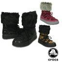 【送料無料】クロックス(CROCS) ロッジポイント レース ブーツ ウィメン(lodgepoint lace boot w) レディース /女性用【楽ギフ_包装選択】【r】[BB]【30】