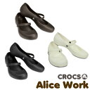 【送料無料】CROCS Alice Work Lady's クロックス アリス ワーク レディース サンダル パンプス【女性用】【楽ギフ_包装選択】【r】【20...