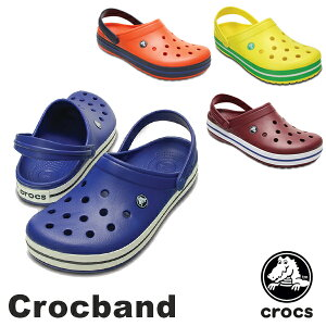 【送料無料】CROCSCrocbandMen's/Lady'sクロックスクロックバンドメンズ/レディースサンダル【男女兼用】