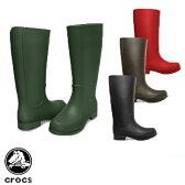 【送料無料】 クロックス (CROCS) ウェリー レインブーツ ウィメンズ(wellie rain boot w) 長靴 【女性用】【楽ギフ_包装選択】【35】