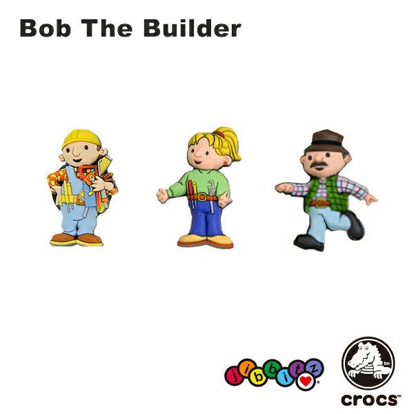 【メール便可】クロックス(CROCS)ジビッツ(jibbitz) ボブとはたらくブーブーズ(Bob The Builder) /クロックス/シューズアクセサリー/キャラクター/[YEL] 【楽ギフ_包装選択】[AA]