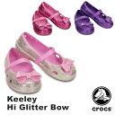 【送料無料】クロックス(CROCS)キーリー ハイ グリッター ボウ(keeley hi glitter bow)【子供用】【楽ギフ_包装選択】【r】【10】