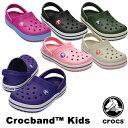 クロックス(CROCS) クロックバンド キッズ/ホールサイズ(crocband kids) サンダル【ベビー キッズ 子供用】 AA 【20】