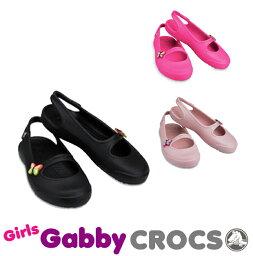 【送料無料対象外】CROCS Girls Gabby <strong>クロックス</strong> ガールズ ギャビー【ベビー & <strong>キッズ</strong> 子供用】[AA]【60】