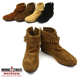 MINNETONKA Back Zipper Boot Minnetonka back zipper suede boots (282-283-287-289)