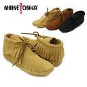 ミネトンカ(MINNETONKA) クラシック フリンジ ソフトソール ブーツ(Classic Fringe Softsole Boot) レディース/ウィメンズ用 ルームシューズ/室内履き [AA]