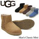 【送料無料】【正規品】アグ オーストラリア(UGG Australia) メンズ クラシックミニ(Men's Classic Mini)シープスキン ブーツ【楽ギフ..