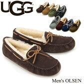 【送料無料】【正規品】アグ オーストラリア(UGG Australia)メンズ オルセン(Men's OLSEN)/スエードスリッポン【楽ギフ_包装選択】【13】