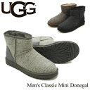 【送料無料】【正規品】アグ オーストラリア(UGG Australia) メンズ クラシック ミニ ドネガル(Men's Classic Mini Donegal)/ブーツ【..