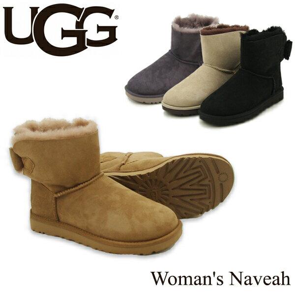 【送料無料】【正規品】アグ オーストラリア(UGG Australia)ウィメンズ ナベア(Woman's Naveah) シープスキンブーツ/ムートンブーツ【楽ギフ_包装選択】【8】