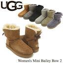 アグ オーストラリア(UGG Australia) ウィメンズ ミニ ベイリーボウ 2(Women's MIni Bailey Bow 2)シープスキンブーツ/ムートンブーツ..