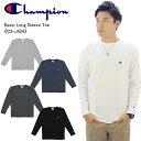 【40%OFF】【ゆうパケット送料無料】【ポイント5倍】チャンピオン(Champion) ロングスリーブTシャツ 18FW ベーシック チャンピオン(C3-J424) メンズ 長袖 Tシャツ[AA-2]
