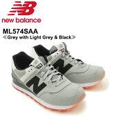 【送料無料】ニュー バランス(New Balance)ML574/574 State Fair ランニング スニーカー ≪ML574SAA/Grey with Light Grey & Black≫シューズ/メンズ/男性用【楽ギフ_包装選択】