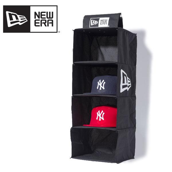 【ポイント5倍】【国内正規品】ニュー エラ(NEW ERA) Cap Strage Hunger《Black》 キャップラック/ストレージハンガー/帽子/収納[BB]