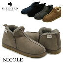【送料無料】【国内正規品】シェパード(SHEPHERD) ニコル(NICOLE) シープスキン ムー