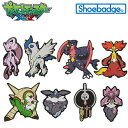【メール便可】ポケットモンスター XY ポケモン シューバッジ (Pokemon Shoebadge...