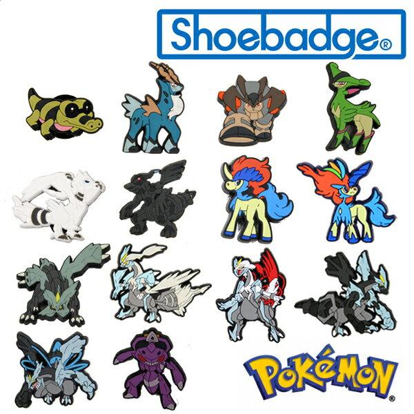 【メール便可】ポケットモンスター ポケモン シューバッジ (Pokemon Shoebadge)【楽ギフ_包装選択】[AA]