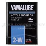 YAMAHA(ヤマハ)マリンオイル 2-W 4L 1本マリンジェット 2ストローク 2サイクル 水上バイク 純正