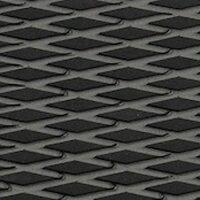 HYDRO-TURFツートン汎用トラクションマット(テープ付き)カットダイヤ BLACK/D.GRAYの画像