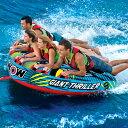 トーイングチューブ WOW/ワオ 4人乗り ジャイアントスリラー バナナボート