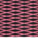 水上活動 - HYDRO-TURFツートン汎用トラクションマット(テープ付き)カットダイヤ BLACK/PINK