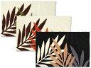 【JVM-104 (約)55×85cm】椰子科植物 葉デザイン マット 玄関マット バスマット キッチンマット