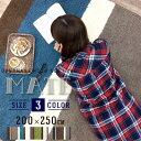 ラグ ラグマット カーペット 絨毯 マテ 200×250cm おしゃれ モダン スミノエ ウレタン 滑りにくい HOT・床暖房対応 冬 オールシーズン グリーン 北欧 neore
