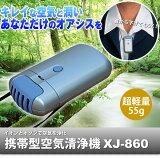 花粉対策に携帯型空気清浄器 【あす楽】【HLSDU】
