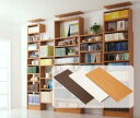 全品ポイント2倍床から天井まで、たっぷり+すっきり収納できる!組み合わせ自在!つっぱりオープン本棚 ceiling 連結用棚板 幅46