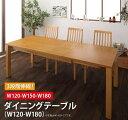 暮らしに合わせて使える 3段階伸縮ハイバックチェアダイニング Costa コスタ ダイニングテーブル W120-180 単品 テーブルのみ 「ダイニングテーブル コンパクト エクステンションテーブル 3段階伸縮 伸縮はラクラク 」