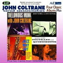 Artist Name: J - コルトレーン〜フォー・クラシック・アルバムス・プラス[CD] / ジョン・コルトレーン