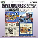 Artist Name: D - ブルーベック〜スリー・クラシック・アルバムス・プラス[CD] / デイヴ・ブルーベック
