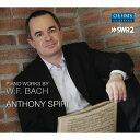 作曲家名: A行 - W.F.バッハ: ピアノ作品集[CD] / アントニー・スピリ(Pf)