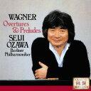 作曲家名: A行 - ワーグナー: 管弦楽曲集[CD] / 小澤征爾 (指揮)