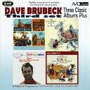 藝人名: D - ブルーベック〜スリー・クラシック・アルバムス・プラス[CD] / デイヴ・ブルーベック