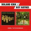 藝人名: R - ドミノ+アウト・オブ・ザ・アフタヌーン+ 1 ボーナス・トラック[CD] / ローランド・カーク&ロイ・ヘインズ