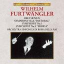作曲家名: A行 - ローマのフルトヴェングラー「田園・運命・英雄」 [UHQCD][CD] / ウィルヘルム・フルトヴェングラー (指揮)/ローマ・イタリア放送交響楽団