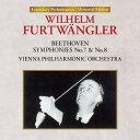 Symphony - ベートーヴェン: 交響曲 第7番、第8番 (1954年) [UHQCD][CD] / ウィルヘルム・フルトヴェングラー (指揮)/ウィーン・フィルハーモニー管弦楽団