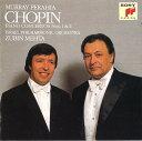 ショパン: ピアノ協奏曲第1番&第2番 [期間生産限定盤][CD] / マレイ・ペライア