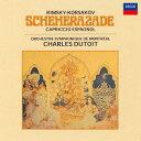 作曲家名: Sa行 - R=コルサコフ: 交響組曲「シェエラザード」、スペイン奇想曲 [SHM-CD][CD] / シャルル・デュトワ (指揮)