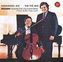 Composer: Ya Line - ブラームス: チェロ・ソナタ集 [期間生産限定盤][CD] / ヨーヨー・マ / エマニュエル・アックス