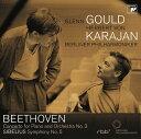 ベートーヴェン: ピアノ協奏曲第3番 / シベリウス: 交響曲第5番 [Blu-spec CD2][CD] / グレン・グールド&ヘルベルト・フォン・カラヤン..