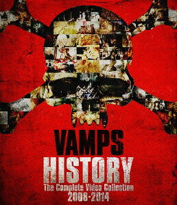 HISTORY-The Complete Video Collection 2008-2014 [GOODS付初回限定版][Blu-ray] / VAMPS