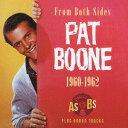 藝人名: P - 1960-1962 シングルス A'S&B'S・プラス・ボーナストラック[CD] / パット・ブーン