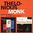 Artist Name: T - プレイズ・デューク・エリントン + ザ・ユニーク・セロニアス・モンク[CD] / セロニアス・モンク