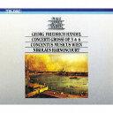 ヘンデル: 合奏協奏曲 作品3&6 (全曲)[CD] / ニコラウス・アーノンクール (指揮)