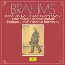 作曲家名: Ta行 - ブラームス: ピアノ三重奏曲第3番、ピアノ四重奏曲第2番 [SHM-CD][CD] / タマーシュ・ヴァーシャーリ、トーマス・ブランディス、ヴォルフラム・クリスト、オトマール・ボルヴィッキー